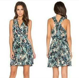 Anthropologie Greylin Fern Tropical print Dress!